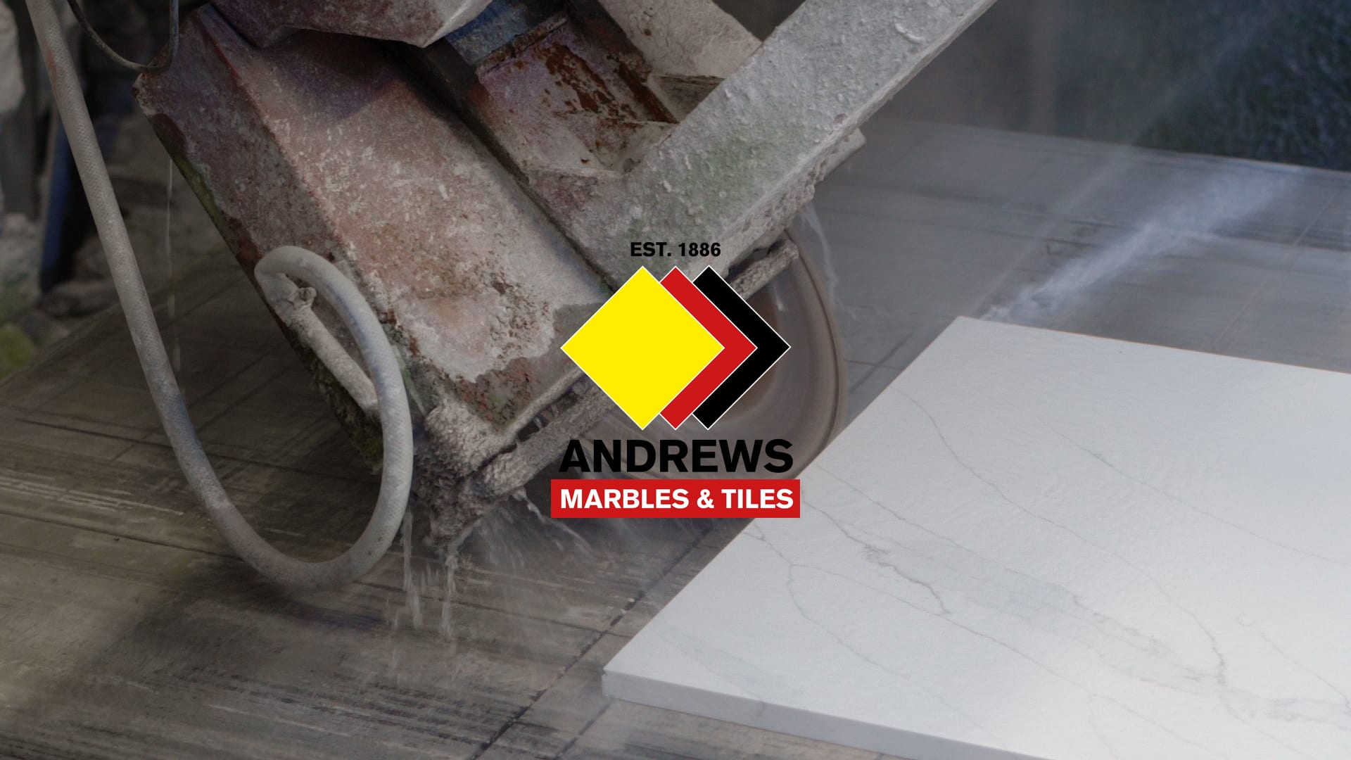 Andrews Tiles - Worktop Installation Promo Video